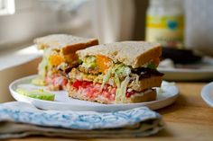 Kathy's California Club Sandwich by @Kathy Patalsky of Lunch Box Bunch.