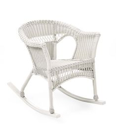 Shop a great selection of Plow & Hearth Easy Care Outdoor Resin Wicker Rocker, Bright White. Find new offer and Similar products for Plow & Hearth Easy Care Outdoor Resin Wicker Rocker, Bright White. Wicker Rocking Chair, Outdoor Rocking Chairs, Resin Wicker Furniture, White Furniture, Outdoor Furniture, Wicker Rocker, Cool Chairs, Bar Chairs, Hearth