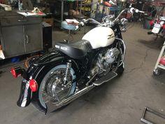 1969  Moto Guzzi Ambassador Restoration almost completed.