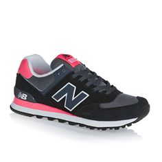 New Balance Shoes - New Balance 574 Shoes - Black/Pink