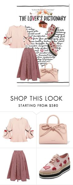 """We looked at each other a little too long to just be friends"" by obsessedaboutstyle ❤ liked on Polyvore featuring Roksanda, Mansur Gavriel, Tome and Prada"