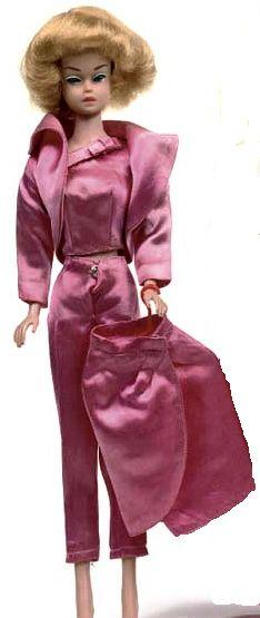 Fashion Queen Barbie in Satin N Rose #1611 (1964)