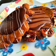 Chocolate Pecan And Almond Turtles @ Jinju Chocolates