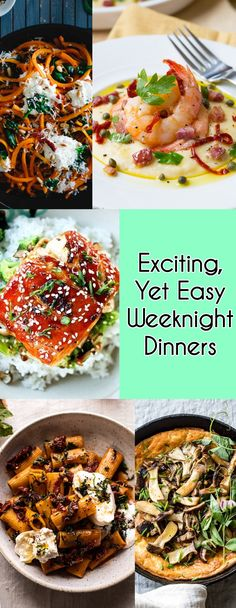 Easy Weeknight Dinners, Quick Easy Meals, Easy Dinner Recipes, Easy Recipes, Mexican Spice Mix, Weekly Meal Planner, Meals For The Week, Vegetable Pizza, Food