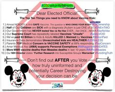 vaccine questions for elected officials