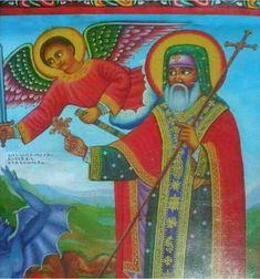 አቡነ ሀብተ ማርያም Ethiopia, Africa, Angel, Icons, Painting, Fictional Characters, Art, Art Background, Angels