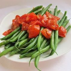 Green Beans with Cherry Tomatoes ~ Traditional Recipes