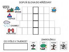 Pro Šíšu: Tajenky a básničky od Martičky :-) Preschool Worksheets, Alphabet, Diagram, Reading, Homeschooling, Christmas, Cuba, Xmas, Alpha Bet