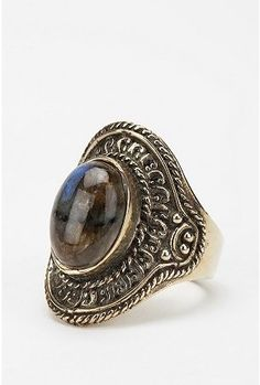 Etched Moonstone Ring - StyleSays