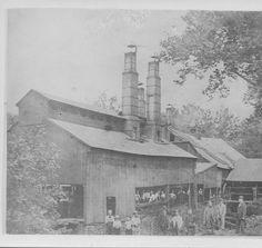 Lukens Steel Brandywine Rolling Mill - 1880s