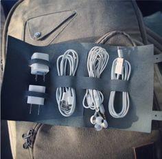 Органайзер для зарядки ноута и телефона