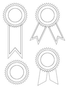 A job well done deserved an award ribbon. Use these free printable award ribbons to reward children for good deeds, such as finishing homework or a race. Free Printable Certificate Templates, Certificate Of Achievement Template, Award Certificates, Free Printables, Funny Certificates, Blank Certificate, Tag Templates, Design Templates, Award Template