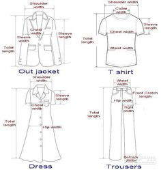 How to Measure Shirts How to Measure Jpg