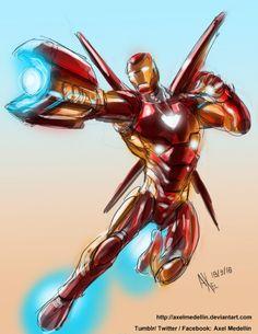 'Infinity War' Iron Man - Axel Medellin