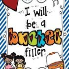 "A cute way to kickstart your school year.  Encourage your students to be ""Bucket Fillers"" full of kindness!  What is a bucket filler you ask?  A bu..."