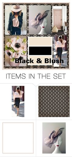"""Black & Blush"" by art-gives-me-life ❤ liked on Polyvore featuring art and ColorCrush"