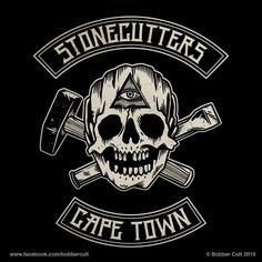 Bobber Cult Mc Logo, Badge Logo, Skull Logo, Skull Art, Bike Rally, Bike Stickers, Easy Rider, Nose Art, Skateboard Art