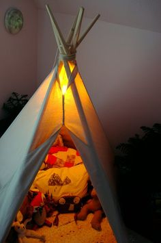 Brooke's Campout Bedroom