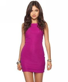 Forever 21 Matelassé Sheath Dress - I have this dress and it is my absolute favorite item of clothing in my closet!!! <3 I LOVE it! So cute and sexy :)