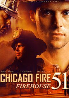 Chicago Fire - Firehouse 51 (POSTER) by Amro0.deviantart.com on @DeviantArt