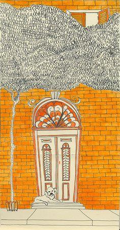 Moleskinepredio by Cecília Murgel