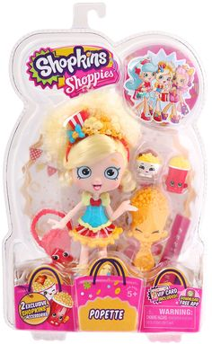 Got it- Harper- Shopkins Popette Shoppies Doll