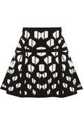 Flote Intarsia Stretch-knit Skirt by Diane Von Furstenberg, from Net-a-porter, $275