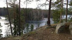Liesjärven kansallispuisto, Hyypiökalliolla