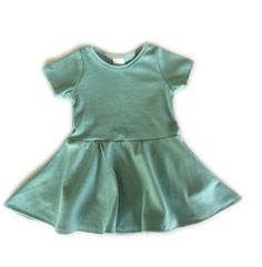 Cap Sleeve Hidden Pocket Twirly Dress (More Colors Available)