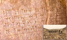 Ancient inscriptions found under Tomb of Jonah in Iraq   Daily Mail Online