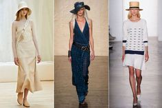 Three is a Trend - Spring 2014 Style Trends from Fashion Week - Harper's BAZAAR-Wide Brim Hats