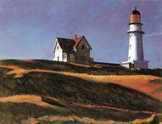 Edward Hopper - Lighthouse Hill, Cape Elizabeth (1927)