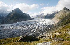 Alps, Glasier