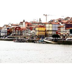 #porto #vacances #visite #ribeira #douro by lisouz Douro Valley, Five Star Hotel, In The Heart, Terrace, Old Things, Street View, River, Landscape, History