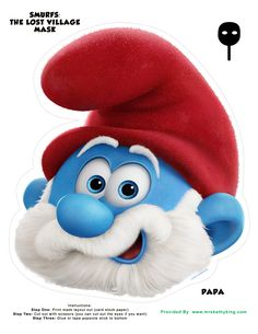 On April 7, 2017, Smurfs: The Lost Village will be hitting theaters. To celebrate the upcoming release of Smurfs: The Lost Village, we made a set of printable Smurfs: The Lost Village Mask for kids. Our Set Printable Smurfs: The Lost Village Mask for Kids Include: Smurfette Mask Papa Smurf Mask Hefty Mask Clumsy Mask Bucky …