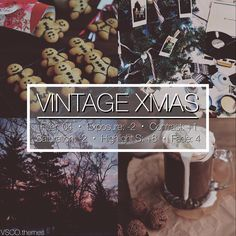 """202 Likes, 8 Comments - vsco themes (@vsco.themes) on Instagram: """"VINTAGE XMAS  