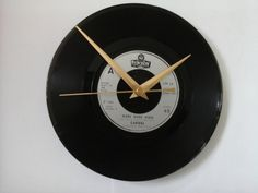 "Carmel- more more more   7""  vinyl record clock  £6.99"