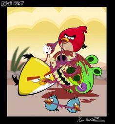 Angry Bird Zombies