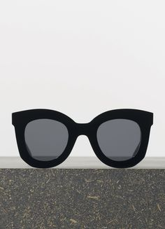 Céline Spring 2015 - Marta Sunglasses in Black Acetate with Grey Lenses