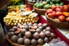 Fruits exotiques de Madère