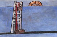 Ladder, 1978 Philip Guston