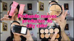 Maquillaje con nuevos productos de CITY COLOR//SARA DICE