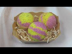 Бомбочки для ванны своими руками с ухаживающими маслами - YouTube