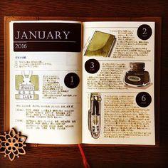 2016年1月1日〜6日の絵日記。 早速4日と5日が抜けている…。 #絵日記 #絵日記倶楽部 #mdノート #mdnotebook #midori #ほぼ日もどき #手帳ゆる友 #万年筆イラスト部 #クリーンカラー #きりえにっき
