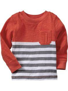 Color-Block Stripe Slub-Knit Tee | Size: 2T | Old Navy $12.94