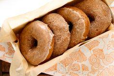 pumpkin doughnuts | annie's-eats.com