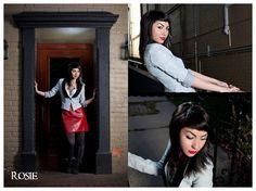ignited Photography - Stylized Fashion - Stylist: Kait Wright - Model: Rosie - Strobe Lighting - Northville, MI