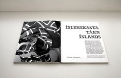 Mæna magazine by Jóhann Geir Úlfarsson, via Behance