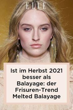 Balayage ist der Haarfarben-Trend schlechthin – doch im Herbst 2021 bekommt er ein Update: Melted Balayage heißt der neue Frisuren-Trend! #beauty #haut #hautpflege #skincare #haare #haarpflege