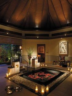 Amazing Black Brown Open View Romantic Bathroom For Your Perfect Valentine's Days
